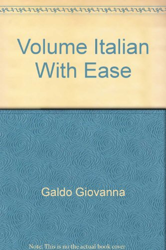 Italian With Ease (en anglais)
