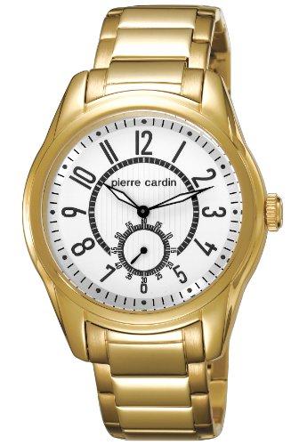 Pierre Cardin - PC104241F07 - Montre Homme - Quartz Analogique - Aiguilles Lumineuses - Bracelet Acier Inoxydable Doré