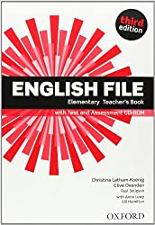 English File Elementary : Elementary teacher's book (1CD audio)