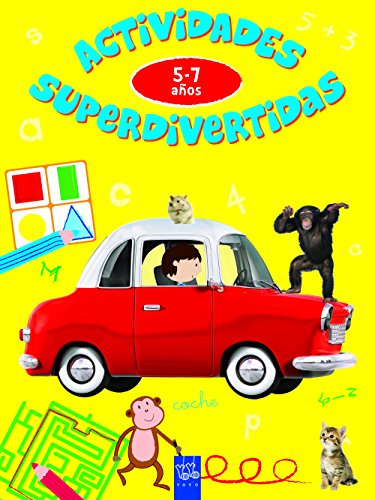 Actividades superdivertidas. 5-7 años: Escribir-Contar-Leer la hora-Conceptos