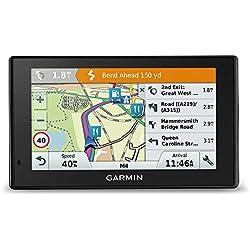 Garmin DriveAssist 51 LMT D - GPS Auto - 5 pouces - Cartes 46 pays - Cartes et Trafic gratuits à vie - Caméra intégrée