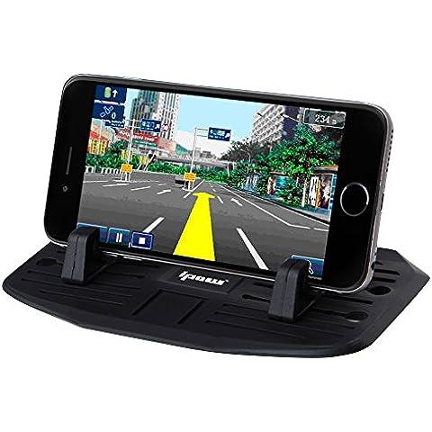 [Nuovo versione]Ipow® Supporto antiscivolo per cruscotto auto per Phone Samsung