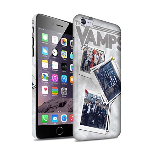 Officiel The Vamps Coque / Clipser Matte Etui pour Apple iPhone 6+/Plus 5.5 / Pack 5Pcs Design / The Vamps Livre Doodle Collection Collage