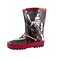 Disney Kids Boys Star Wars Darth Vader Wellington Boots Wellies Boots Size UK 7-1