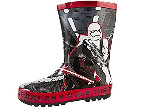 Star Wars Boys Darth Vader Storm Trooper Wellington Boots Size Infant UK 7-1