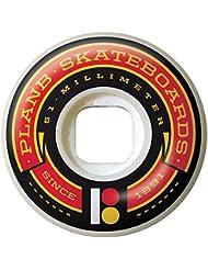 Plan B PBWH012 Jeu de 4 Roues de Skateboard Mixte Adulte, Multicolore, 51 mm