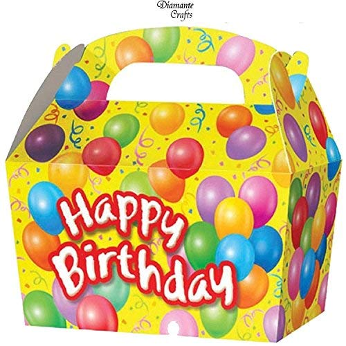 SUPER COOL KIDS PARTY BOXES - In a HAPPY BIRTHDAY design...