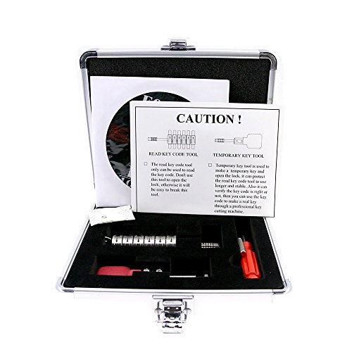 Suoyigou Full Set of Premium Ford Tibbe lock Pick & Decoder locksmith pick tools by ()