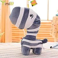 LIULAOHAN Plush Doll Decoration, Cute Zebra Plush Toy Children