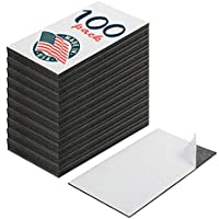 Imanes autoadhesivos para tarjetas de visita – Despegar y pegar – Gran producto promocional – Pack