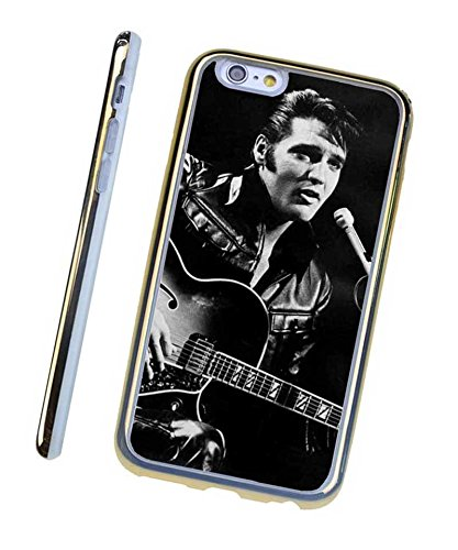 Gold iPhone 6 6s (4.7 inch) Cases Elvis Presley Popular Singer Fashionable Custom Handy Hülle Designer New Style For Men (Handy Presley Elvis)