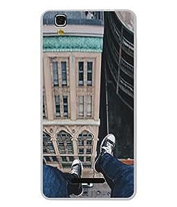 PrintVisa Designer Back Case Cover for YU Yureka :: YU Yureka AO5510 (Enjoying At The Roof Top Design)