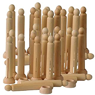 Dolly Pegs with Stands Bulk Pack