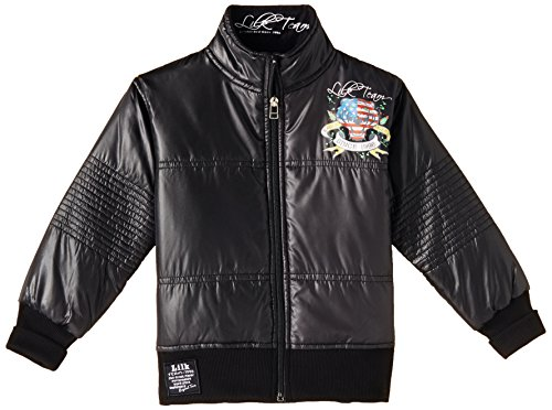 Little Kangaroos Boys' Casual Jacket (3174 BLACK_Black_4)