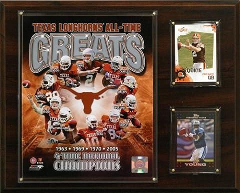 NCAA Football Texas Longhorns All-Time Greats Photo Plaque