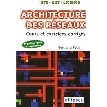 Architecture des réseaux : Cours et exercices corrigés
