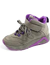 BUSL Zapatos de senderismo Zapatos atléticos de las mujeres Zapatos de running de los tokle Chukka Zapatos cómodos de la PU de la primavera Zapatillas de deporte de la comodidad de la PU al aire libre . gray . 39