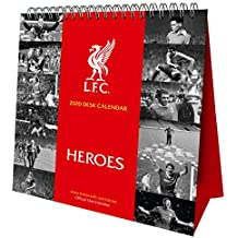 Liverpool FC Desk Easel Official 2020 Calendar  Month to View Desk Calendar