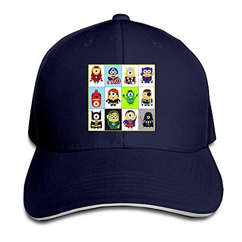 xj-cool-cappellino-da-baseball-uomo-blu-navy-taglia-unica