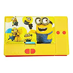 8teen World Jumbo Pencil Box Pencil Box in Princess, Cinderella, Spider Man & Avengers Characters (Minion)
