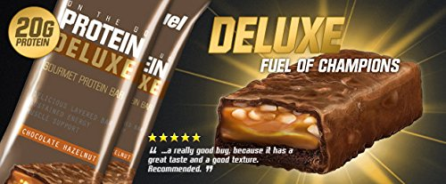 12 x Protein Deluxe Bar 80g Extreme Milk Chocolate
