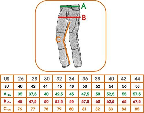 Pantaloni-Mesh-Traforato-Traspirante-Tessuto-Moto-Touring-Uomo-Nero-38