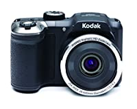 Kodak AZ252 Astro Zoom Bridge Camera - Black (16.44 MP, 25x Optical Zoom) 3-Inch LCD Screen by Kodak