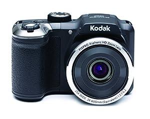 Kodak AZ252 Astro Zoom Bridge Camera - Black (16 MP, 25x Optical Zoom) 3-Inch LCD Screen