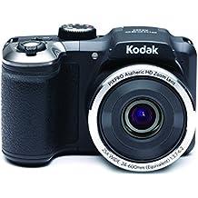 """Kodak PIXPRO AZ252 Bridge camera 16MP 1/2.3"""" CCD 4608 x 3456pixels Black - digital cameras (16 MP, 4608 x 3456 pixels, CCD, 25x, Video recording, Black)"""