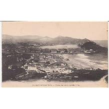 Postal Antigua - Old Postcard : San Sebastián - Vista General desde Ulia
