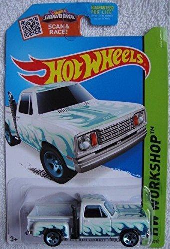 Hot Wheels, 2015 HW Workshop, '78 Dodge Li'l Red Express Truck [White] Die-Cast Vehicle #215/250 by Hot Wheels