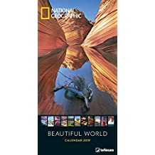 Beautiful World 2019 - National Geographic - Landschaftskalender, Naturkalender, Posterkalender, Wandkalender - 33 x 64 cm