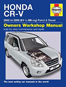 honda cr v repair manual haynes manual service manual workshop rh amazon co uk 2008 honda crv service manual pdf 2007 honda crv service manual pdf