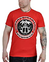 Better Call Saul T-Shirt Logo University of American Samoa Baumwolle rot
