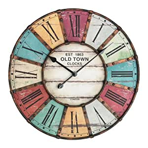Tfa-Dostmann Tfa 60.3021 Vintage Xxl Design Horloge Murale