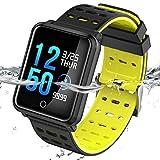 TECKEPIC Fitness Tracker Color Screen Activity Tracker Heart Rate Monitor Wristband Bluetooth Pedometer Smart Bracelet