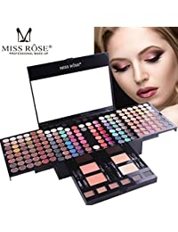 Native99 180 Color Shimmer Matte Eyeshadow+1PC Eyeliner+2 Color Blush+2 Color Compact Powder+6Color Eyebrown+6PC Spong Brush Pro Cosmetic Set