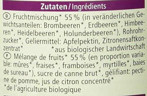 Alnatura Bio Fruchtaufstrich Waldfrucht, vegan, 6er Pack (6 x 250 g) - 4