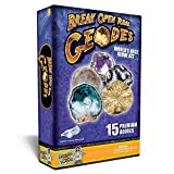 Discover with Dr. Cool World's Best Geode Kit – Crack Open 15 Rocks and Find Crystals!