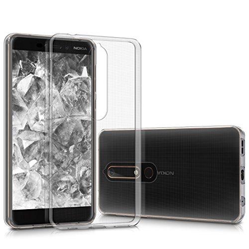 kwmobile Nokia 6.1 (2018) Hülle - Handyhülle für Nokia 6.1 (2018) - Handy Case in Transparent