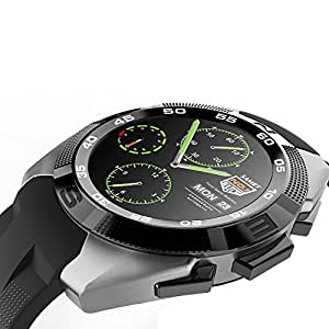 Mobile Link NB1 Bluetooth Smart Watch (Black) with SIM Card Support, Camera, Sedentary Reminder SIM Card Slot, Call SMS Sync Feature Compatible for Meizu MX2