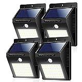 Solar Lights Outdoor ZOYJITU 40 LED Solar Motion Sensor Lights Waterproof Super Bright