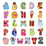 26 Bunte Alphabet Buchstabe A-Z Lovely Tier Bügelbild Patch Badge Jeans Kleidung Applikation Stoff Applikation Schnittmuster Aufkleber