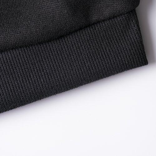 Kerlana Micetta Blusa Manica Lunga Casual Elegante Cotone Girocollo T-Shirt Maglietta Stampa Labbra Maliga Per Donna Taglie Forti Felpe Black White