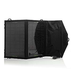 Poweradd 7 W Faltbar Solar Ladegerät mit USB Anschluss für iPhone 4, 4s und andere Smartphones, Tablets, MP3, Powerbank