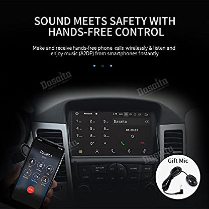 Dasaita-8-1-Din-Android-80-Autoradio-mit-Bluetooth-Freisprecheinrichtung-fr-Chevrolet-Cruze-2008-2011-Auto-Audio-GPS-Navigation-Untersttzung-WiFi-DVR-DAB-Mirrorlink-Lenkradkontrolle