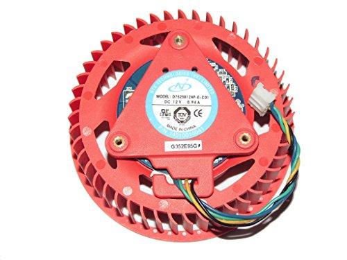 NTK d7525b12hp-0-c0112V 0,94A 4Draht für ATI HD4850HD4890HD5970HD5870Video Fan