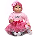NPK Collection Reborn Baby Doll Soft Silicone 22inch 55cm Newborn Baby Doll realista de vinilo muñecas Holiday Gift