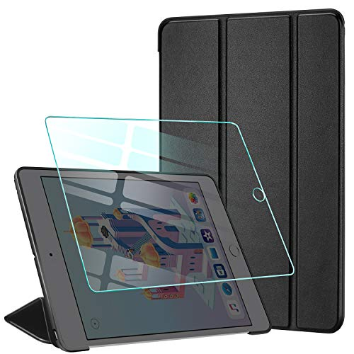 AROYI Funda iPad Mini 4 + Protector Pantalla, Carcasa Silicona Smart Cover con...