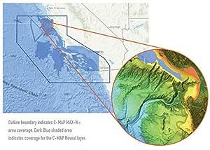 santa cruz area map Reveal Chart San Diego To Santa Cruz Amazon In Electronics santa cruz area map